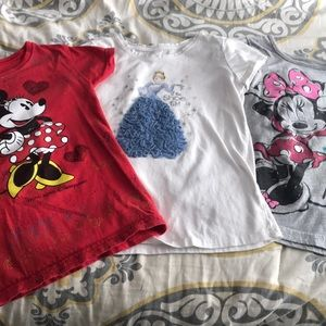 Disney girl tees size 6